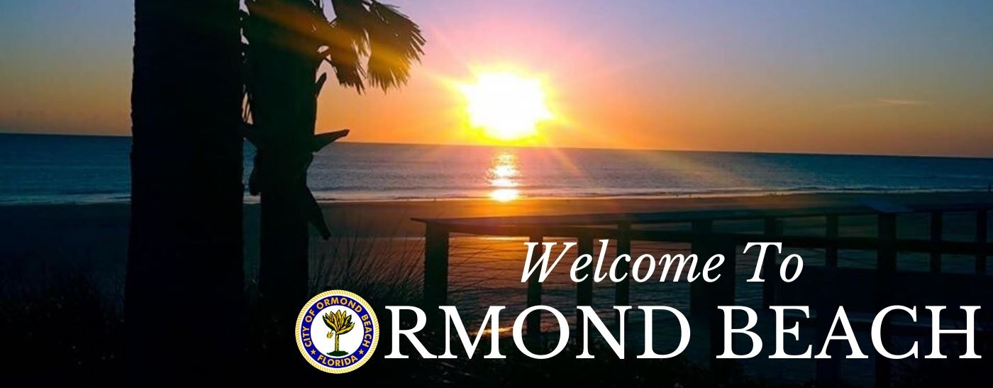 Ormond Beach Website Welcome Sunset