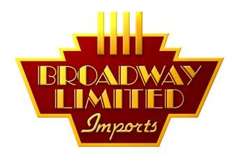 logo for Broadway Limited Opens in new window